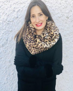 Little Red Kiss | Fashionable and Affordable Accessories | leopard print snood