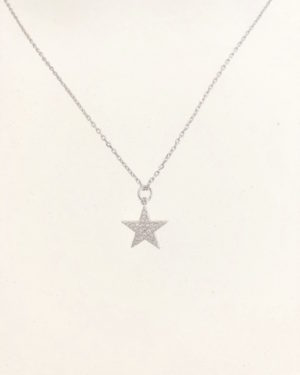 Little Red Kiss | Fashionable and Affordable Accessories | Sparkly Silver Star Pendant