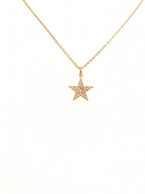 Little Red Kiss | Fashionable and Affordable Accessories | Sparkly Star Pendant Gold, Silver and Rose Gold