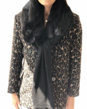 Little Red Kiss | Fashionable and Affordable Accessories | Leopard Print Jacket