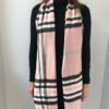Little Red Kiss | Fashionable and Affordable Scarves | Fraas Soft Pale Pink Checked Scarf