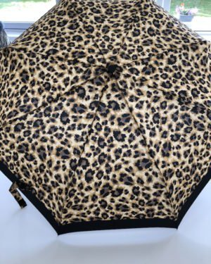 Little Red Kiss | Fashionable and Affordable Accessories | Leopard Print Lightweight Umbrella