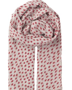 Little Red Kiss | Fashionable and Affordable Scarves | Fine Cotton Red Summer Scarf