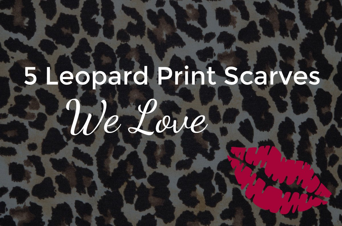 Little Red Kiss | Fashionable and Affordable Accessories | Leopard Print Scarves