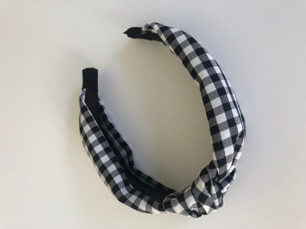 Little Red Kiss | Fashionable and Affordable Accessories | Gingham Headband