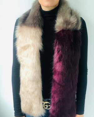 Little Red Kiss | Fashionable and Affordable Accessories | Stylesnob Blush Purple Faux Fur Wrap