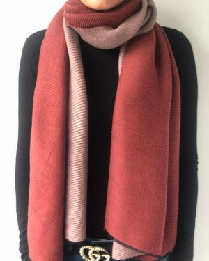 Little Red Kiss | Fashionable and Affordable Accessories | Fraas Cherry Reversible Scarf