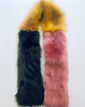 Little Red Kiss | Fashionable and Affordable Accessories | Stylesnob Pink Faux Fur Multi