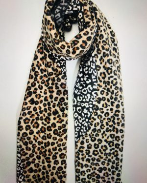 Little Red Kiss | Fashionable and Affordable Accessories | Triple Leopard Scarf