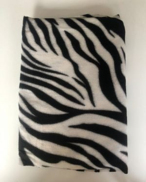 Little Red Kiss | Fashionable and Affordable Accessories | Black White Zebra Scarf