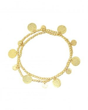 Little Red Kiss | Fashionable and Affordable Accessories | Gold Bangle